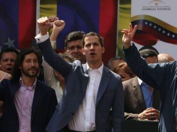 El presidente interino de Venezuela, Juan Guaidó.