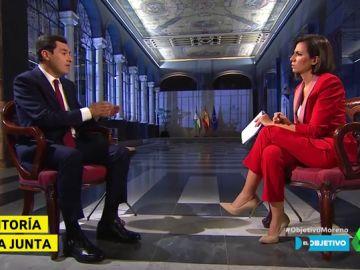 Juanma Moreno y Ana Pastor