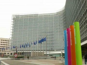 Imagen de la fachada de la Comisión Europea