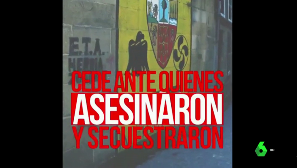 """Ciudadanos difunde un vídeo muy duro contra Pedro Sánchez: """"Cede ante quienes asesinaron y secuestraron"""""""