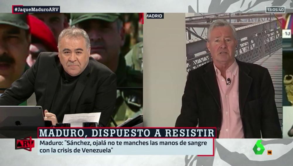 """Verstrynge analiza la situación en Venezuela: """"Ni un sólo dirigente europeo se atreve a decir que EEUU está dando un golpe de Estado"""""""