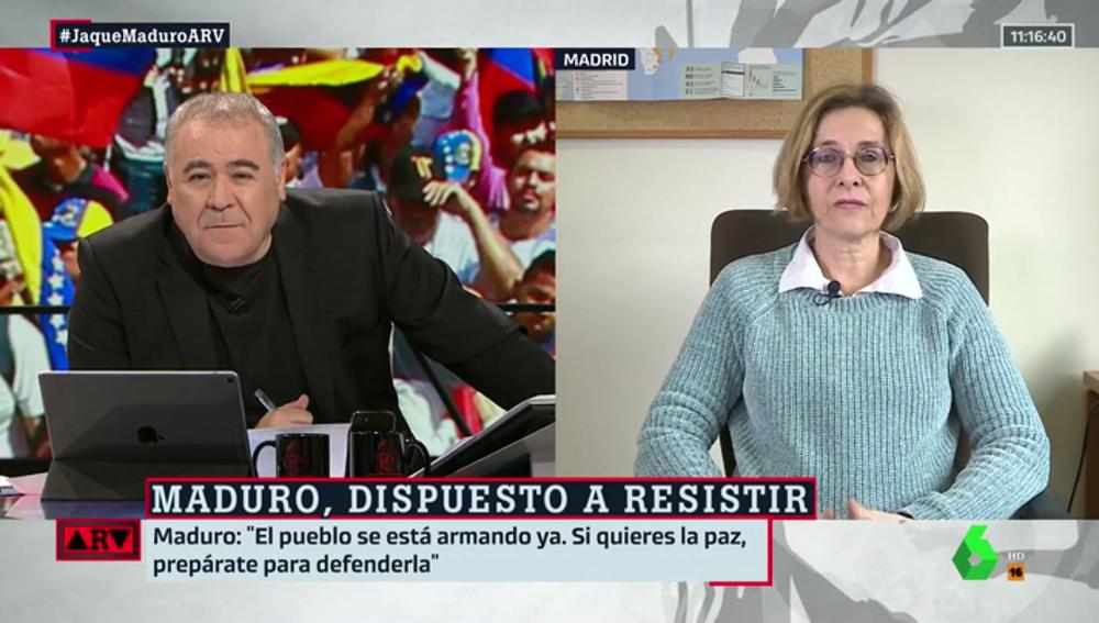 """Susan Gratius, sobre el conflicto en Venezuela: """"La posición en la UE es una salida electoral, pacífica y democrática. No una Guerra Civil"""""""