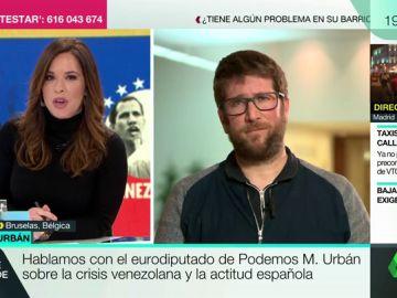 Miguel Urbán, eurodiputado de Podemos
