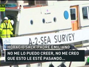 """El padre de Emiliano Sala, sobre el hallazgo de la avioneta: """"Estoy desesperado"""""""