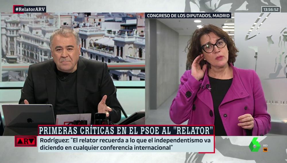 Soraya Rodríguez en ARV