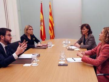 Reunión entre el Gobierno y la Generalitat en Barcelona