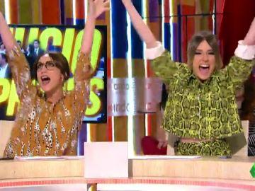 Ana Morgade y Anna Simon cantan a los políticos independentistas al ritmo de Sonia y Selena