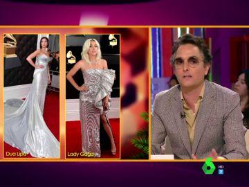 """Dua Lipa, Lady Gaga, Kylie Jenner... Josie valora los looks de los Premios Grammy: """"Va a ser muy difícil que veamos algo parecido en los Oscar"""""""