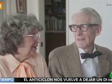 La emocionante recreación de una pareja de ancianos de la película 'Up' para celebrar sus 60 años de amor