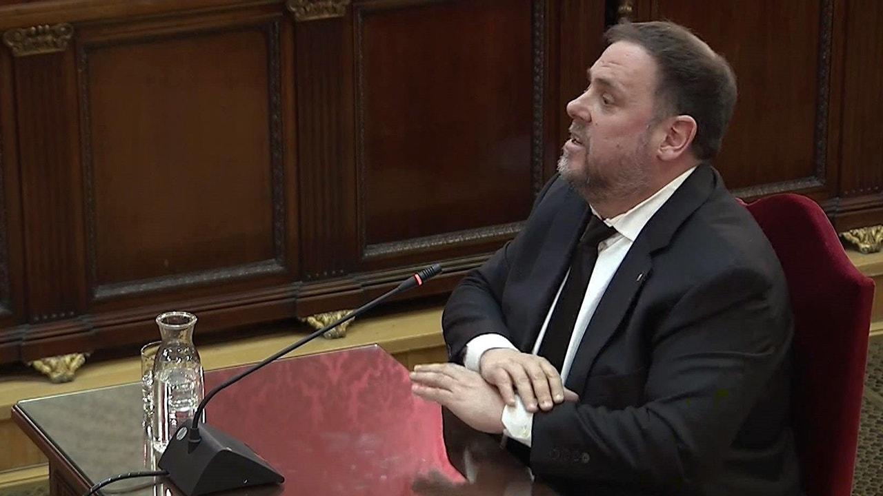 Oriol Junqueras en el juicio del 'procés'