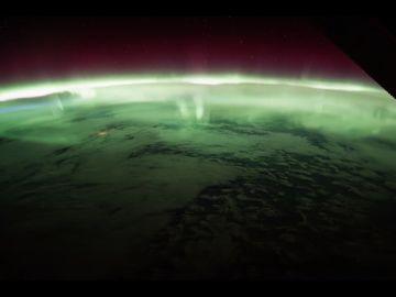 La Tierra, vista desde la Estación Espacial Internacional