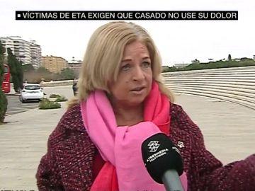 Consuelo Ordóñez, presidenta del Colectivo de Víctimas del Terrorismo