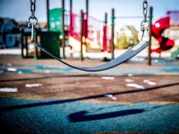Imagen de archivo de un parque de niños