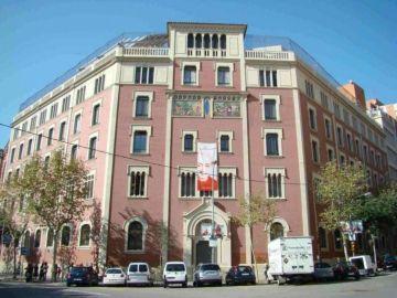 Fachada del Colegio Claret de Barcelona