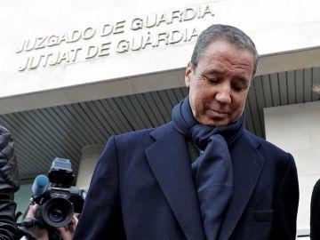El expresidente de la Generalitat, Eduardo Zaplana , ha comparecido en la oficina de presentaciones del juzgado de guardia de Valéncia.