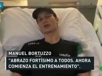 """El nadador que quedó paralítico al recibir un disparo rompe su silencio: """"No veo la hora de dar todo"""""""
