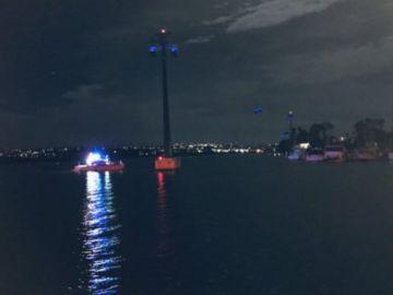 Los equipos de rescate en el Seaworld de San Diego