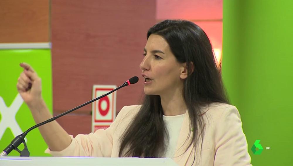 """La presidenta de Vox Madrid acusa al PP de adoctrinar a los niños: """"Les dicen a nuestras hijas que prueben a ser chicos"""""""