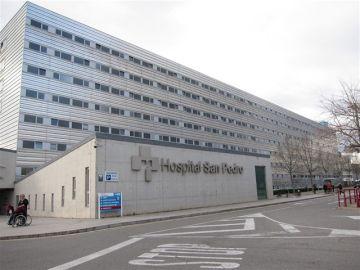 Hospital San Pedro, en Logroño.