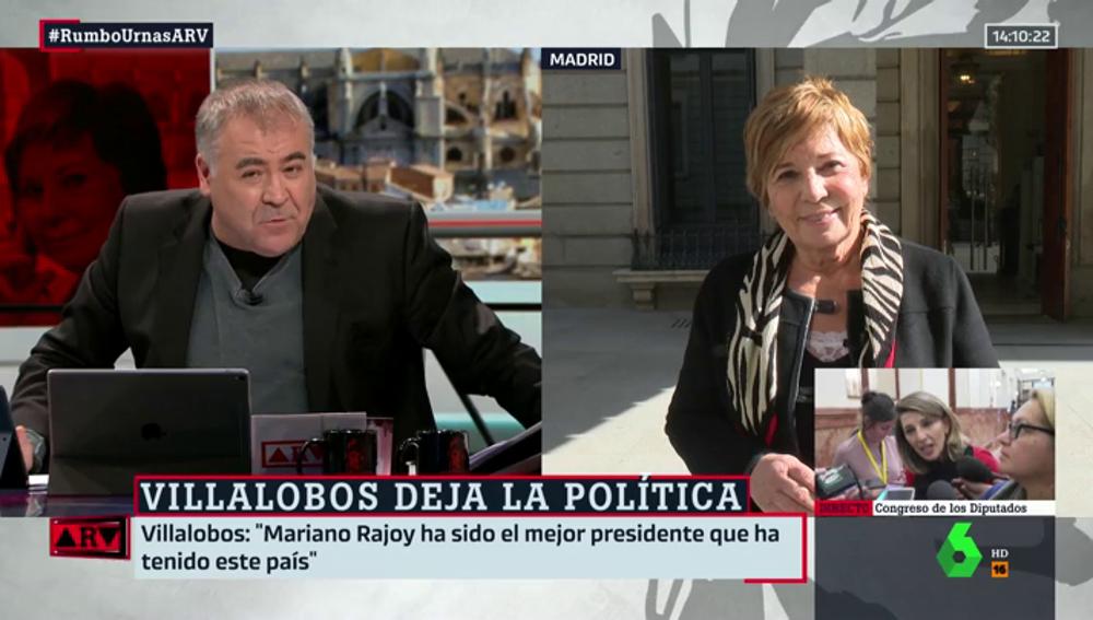 Celia Villalobos habla en ARV