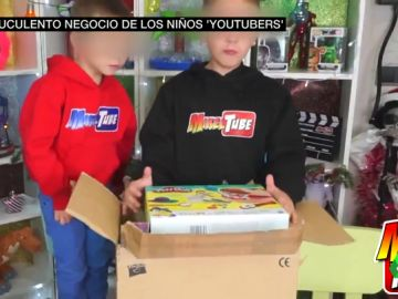 El suculento negocio de los niños youtubers: ganan hasta 8.000 euros por vídeos con publicidad