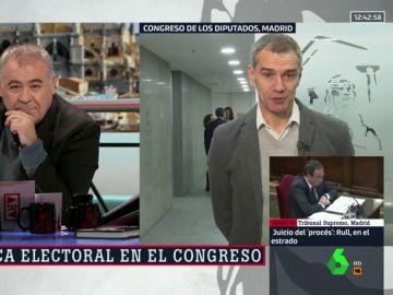 Antonio García Ferreras y Toni Cantó
