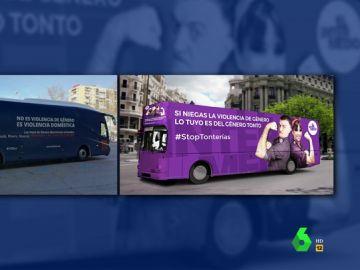 """La respuesta de El Intermedio al mensaje machista del autobús de HazteOír: """"Si niegas la violencia de género, lo tuyo es de género tonto"""""""