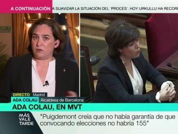 """Ada Colau sobre las declaraciones de los líderes del PP en el juicio del 'procés': """"Me parecen lamentables, no me creo que no se enterasen de nada"""""""