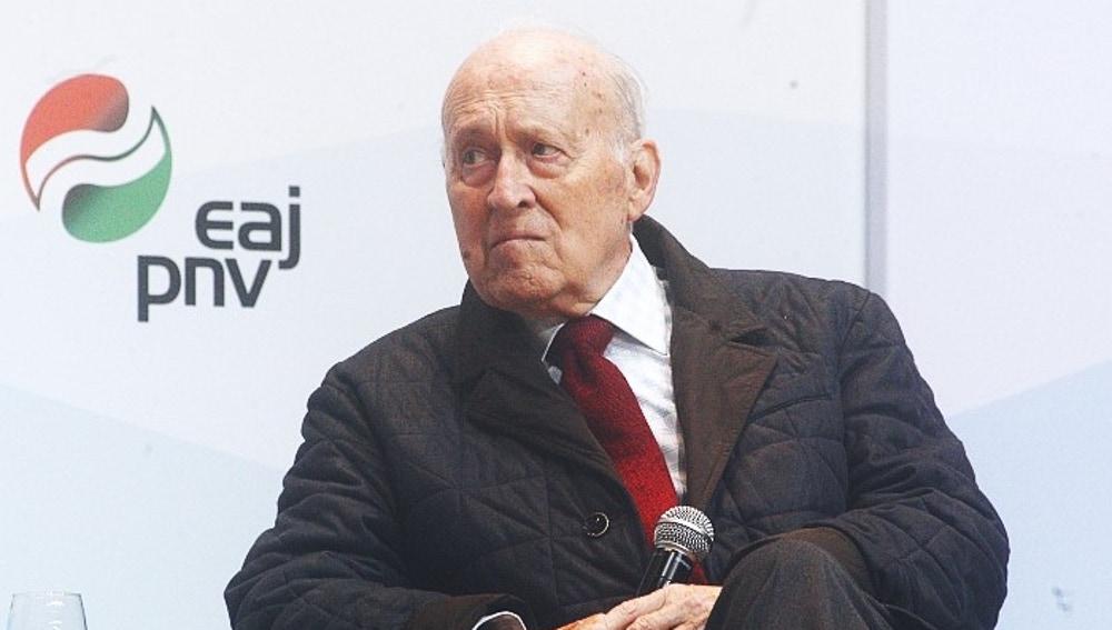 Xabier Arzalluz, expresidente del PNV