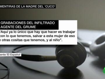 """Unos audios prueban que la Policía encubrió a la madre de El Cuco cuando mentía: """"Tenemos que salvar a esta mujer de eso"""""""