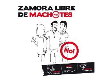 Iniciativa contra el machismo en Zamora