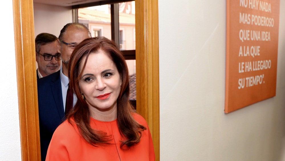 La expresidenta de las Cortes de Castilla y León, que ha abandonado el PP, Sílvia Clemente