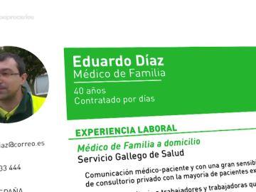 "La precaria situación de Eduardo, único médico de Sanxenxo: ""Trabajo como eventual, llevo 50 contratos en seis años"""