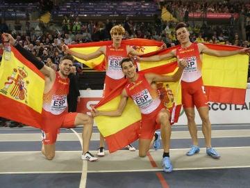 El cuarteto español de 4x400