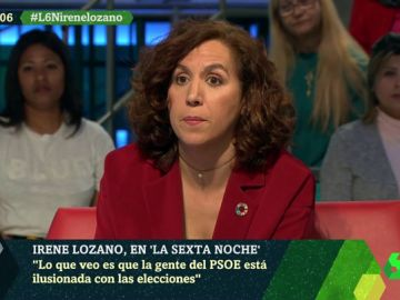 Irene Lozano, en laSexta Noche
