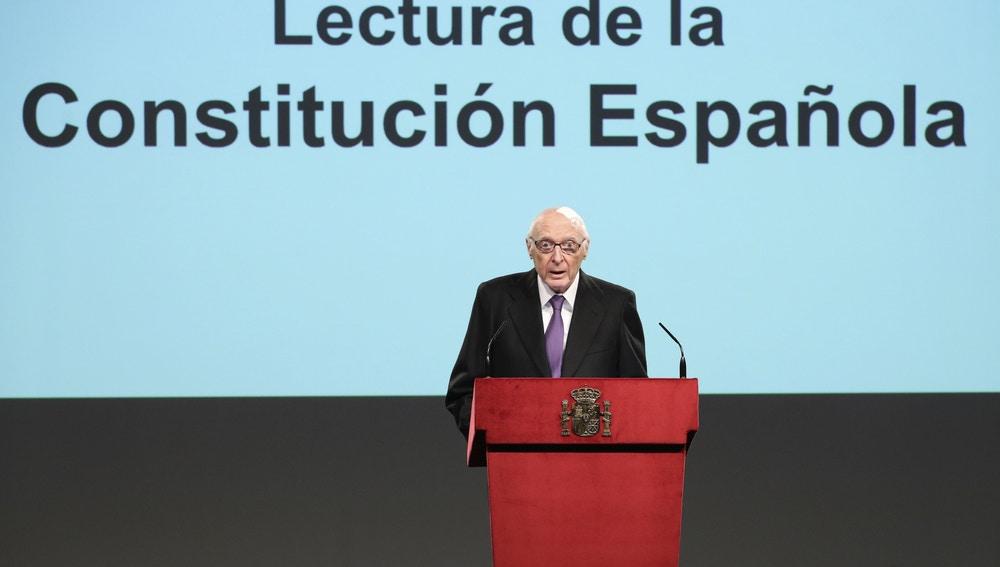 El exministro, José Pedro Pérez-Llorca