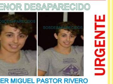 Imagen de un joven de 15 años desaparecido en Las Palmas de Gran Canaria