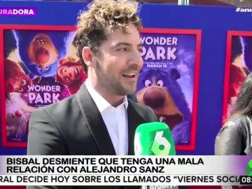 """La entrevista de María Estévez a Bisbal en Arusitys: """"Es mentira que me lleve mal con Alejandro Sanz"""""""