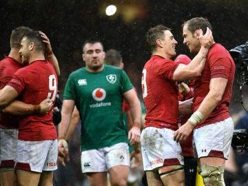 Gales celebra su triunfo ante Irlanda
