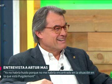 """Artur Mas: """"Puigdemont tiene que asumir las responsabilidades y consecuencias de sus actos"""""""