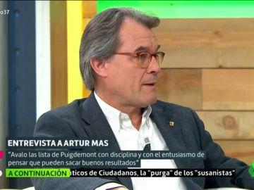 """Artur Mas se defiende frente al informe de la Guardia Civil que lo implica en el 1-O: """"¿Qué iba a decidir yo?"""""""