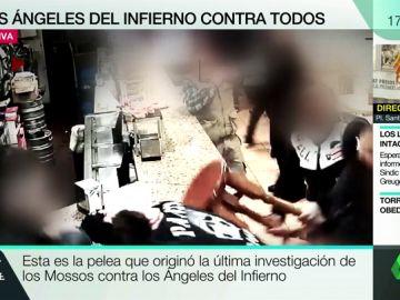 Así fue la pelea que originó la última investigación de los Mossos contra la banda 'Ángeles del Infierno'