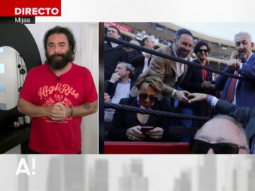 """El Sevilla se moja y opina sobre la foto de Abascal, Esteso y Arévalo: """"Mis amigos se van a cagar en mi padre cuando oigan lo que voy a decir"""""""