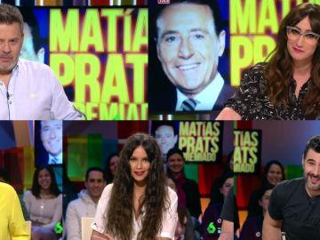 Los zapeadores imitan a Matías Prats