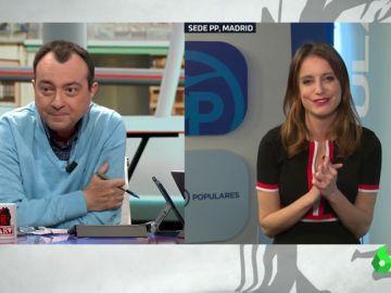 Manuel Cobo y Andrea Levy