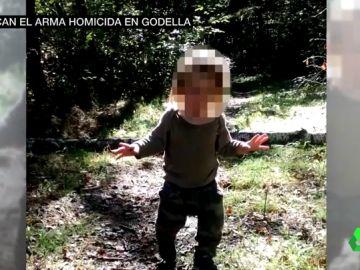 Uno de los niños asesinados en Godella