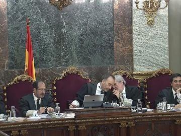 Imagen del interior del Supremo durante el juicio del 'procés'
