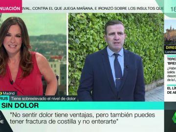 """El hombre español que no siente dolor: """"Me rompí un dedo y no me enteré hasta un mes después"""""""