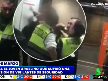 Habla el joven inmigrante agredido brutalmente por nueve vigilantes de Renfe