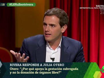 """Albert Rivera vuelve a defender la gestación subrogada: """"Es una vía para formar una familia LGTBI en un país democrático"""""""
